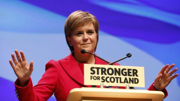 Nicola Sturgeon, jefa del Gobierno escocés (archivo) - Sputnik Mundo