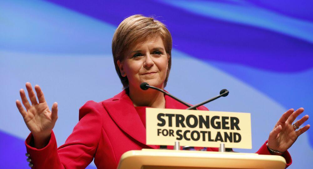 Nicola Sturgeon, jefa del Gobierno escocés (archivo)