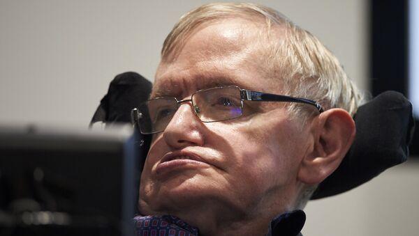Stephen Hawking, científico británico - Sputnik Mundo