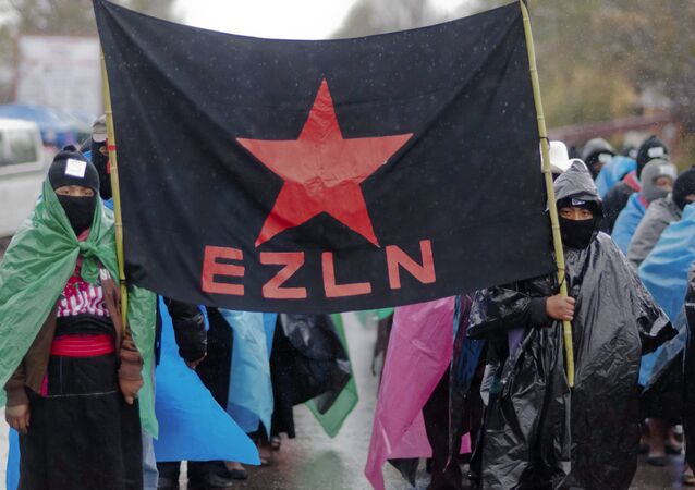 Partidarios de EZLN (archivo)