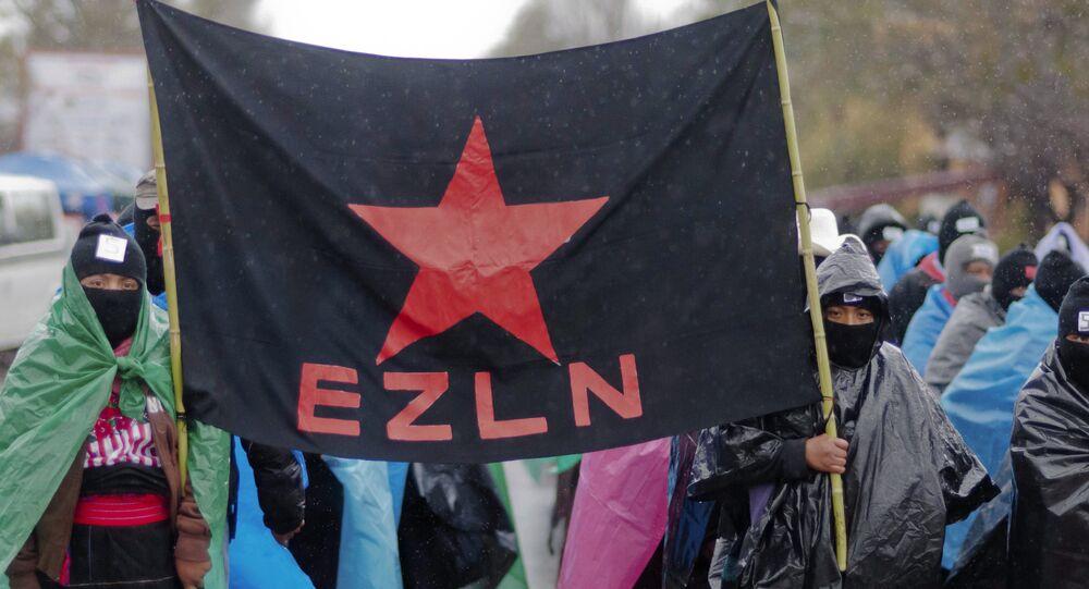 Partidarios de EZLN