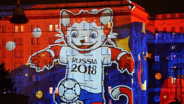 Una de las mascotas de Rusia 2018 - Sputnik Mundo