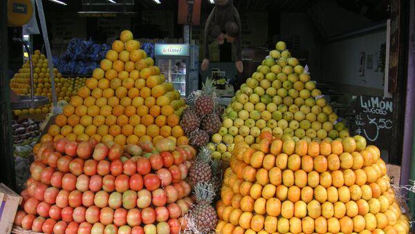 Frutas en un mercado en Argentina - Sputnik Mundo