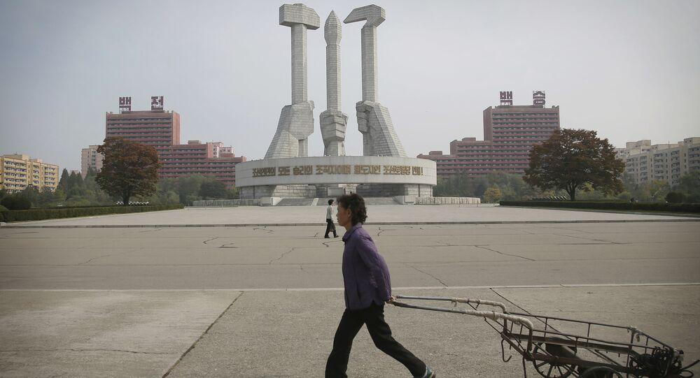 Pyongyang, la capital norcoreana (archivo)