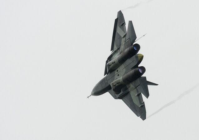 El caza ruso de quinta generación T-50, PAK FA