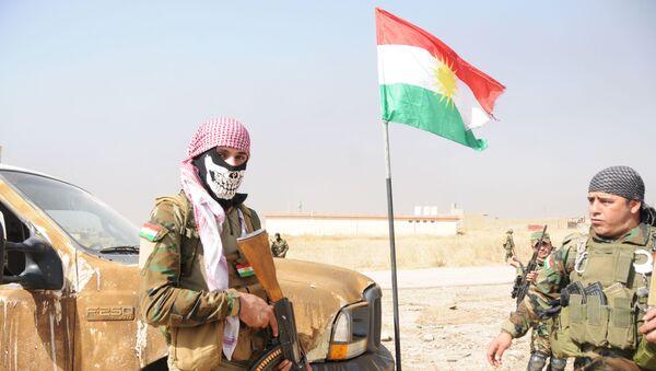 Los kurdos peshmerga (archivo) - Sputnik Mundo