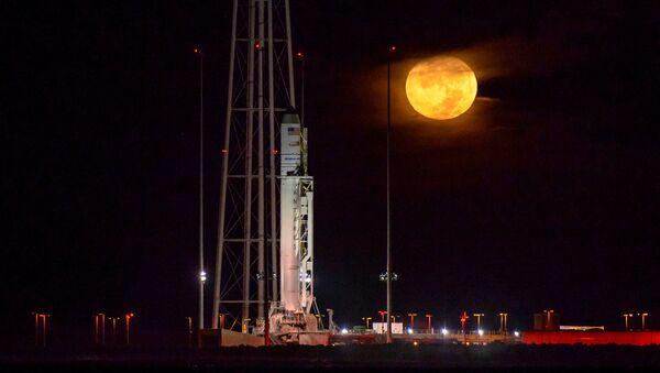El cohete Antares  - Sputnik Mundo