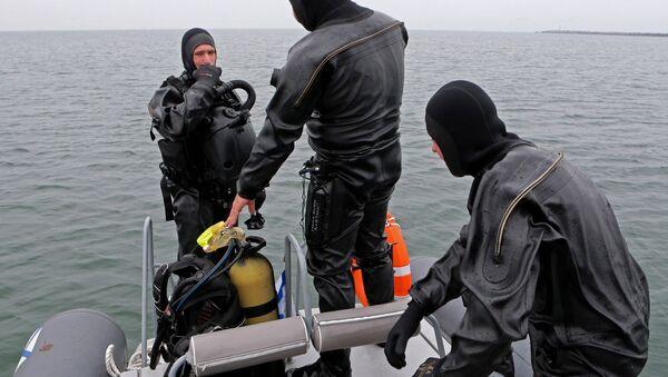 Los nadadores de combate de la Flota del Báltico (archivo) - Sputnik Mundo