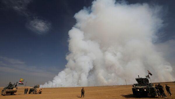 La situación en Mosul, Irak (archivo) - Sputnik Mundo