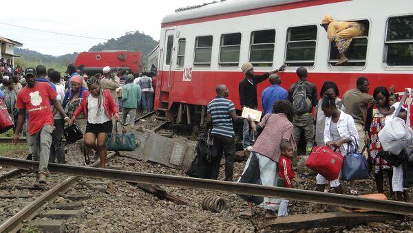 Accidente de tren en Camerún - Sputnik Mundo