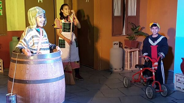 La réplica de la vecindad  del Chavo del Ocho en Argentina - Sputnik Mundo