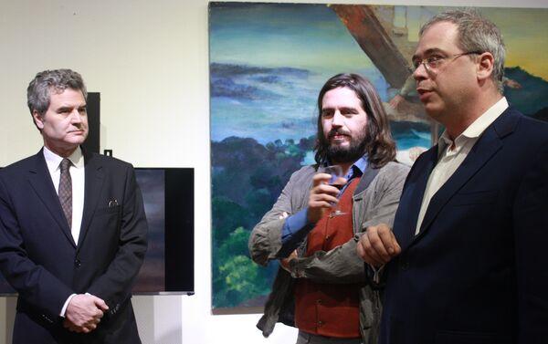 Juan Eduardo Eguiguren, Patricio Bosich y Mikhail Slobodinsky - Sputnik Mundo