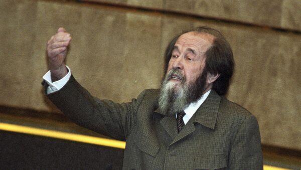 Alexánder Solzhenitsin - Sputnik Mundo