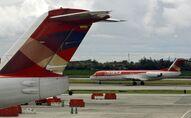 Un avión de la aerolínea Avianca (archivo)