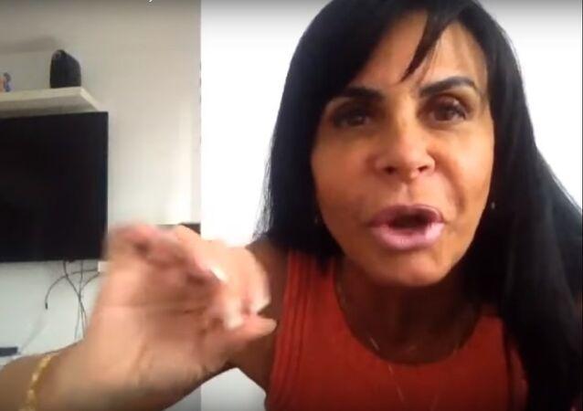 Gretchen, cantante brasileña (archivo)