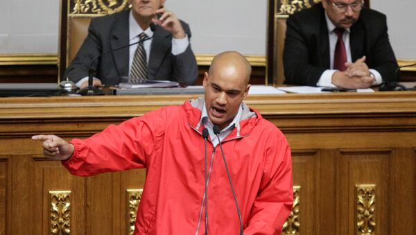 Héctor Rodríguez, gobernador del estado Miranda (archivo) - Sputnik Mundo