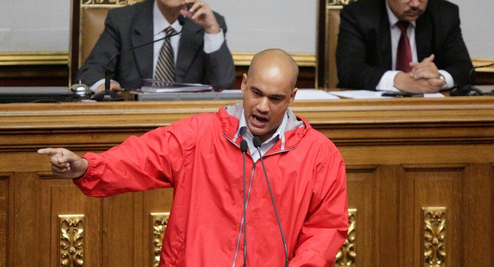 Héctor Rodríguez, diputado socialista