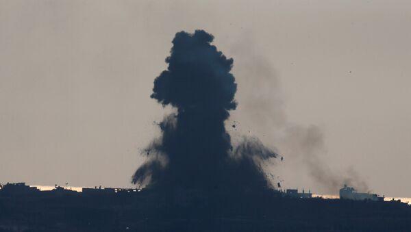 Situación en la Franja de Gaza (archivo) - Sputnik Mundo