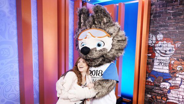 Zabivaka, la mascota del Mundial 2018 - Sputnik Mundo