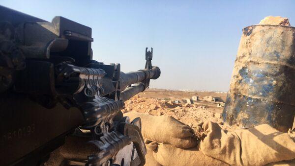 Una posición del Ejército sirio en el sur de Alepo - Sputnik Mundo