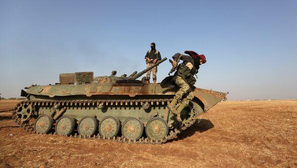 Rebeldes sirio (archivo) - Sputnik Mundo