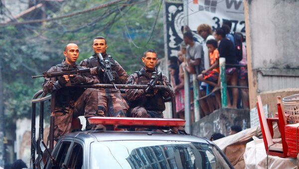 La policía de Río de Janeiro - Sputnik Mundo
