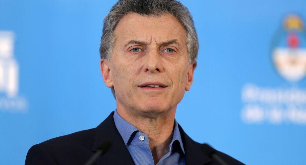 Mauricio Macri, el expresidente de Argentina