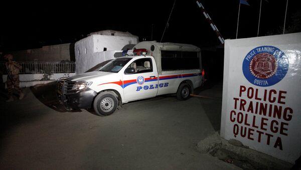 El lugar del atentado en Pakistán - Sputnik Mundo