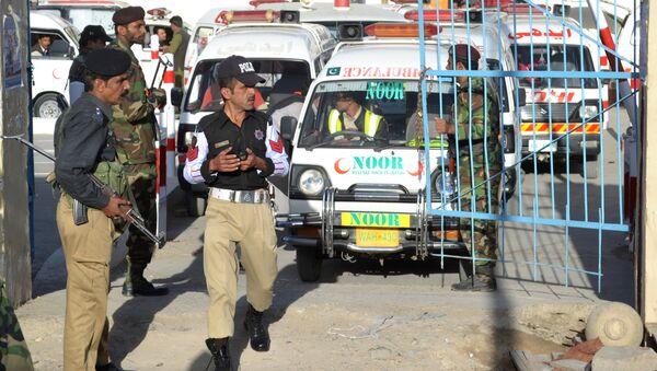 Ambulancia pakistaní (archivo) - Sputnik Mundo