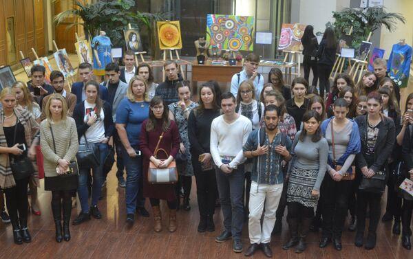 Estudiantes del MGIMO - Sputnik Mundo