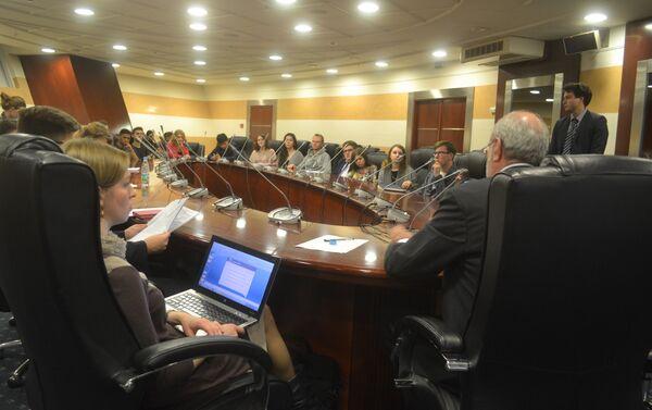 Panel de discusión sobre proceso de paz en Colombia - Sputnik Mundo