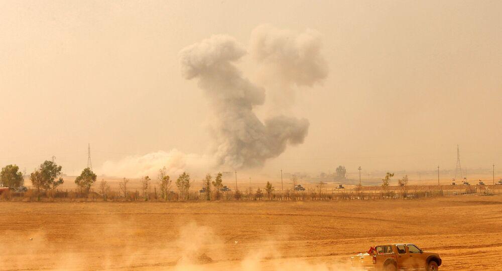 La operación para liberar Mosul, Irak