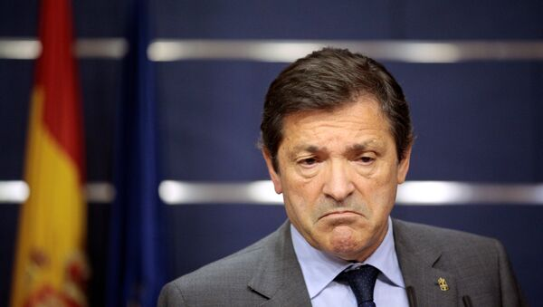 Javier Fernández, el presidente de la Comisión Gestora del PSOE - Sputnik Mundo