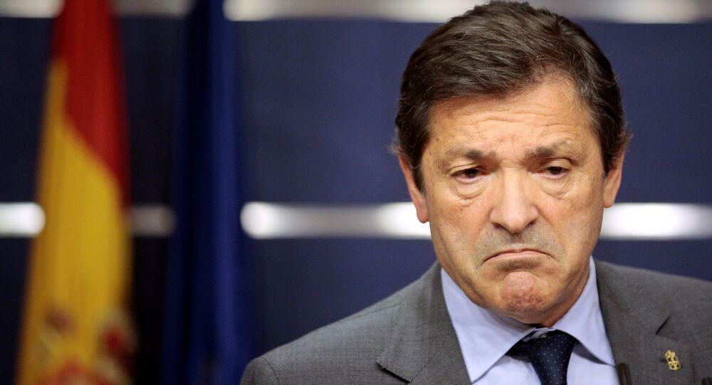 Javier Fernández, líder interino del PSOE