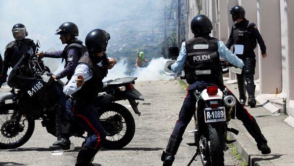 Policía venezolana - Sputnik Mundo