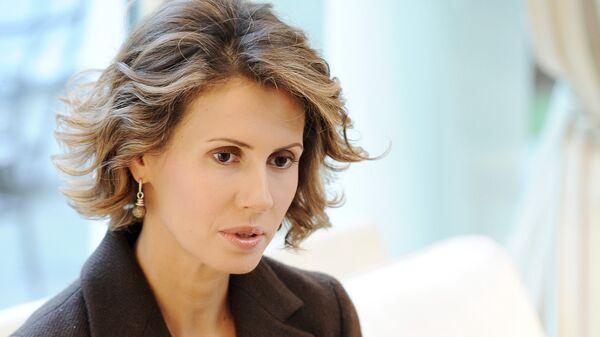 Asma Asad, esposa del presidente de Siria (archivo) - Sputnik Mundo