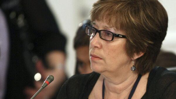Marina Arismendi, ministra de Desarrollo Social de Uruguay - Sputnik Mundo