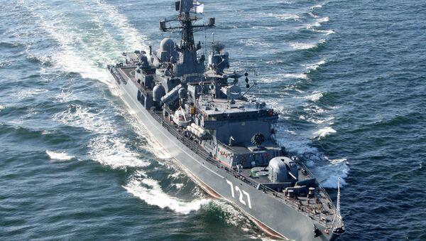 El buque de la Armada Rusa Yaroslav Mudri - Sputnik Mundo