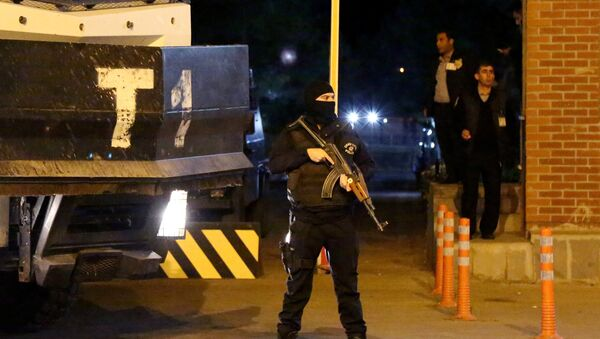 Policía turca - Sputnik Mundo