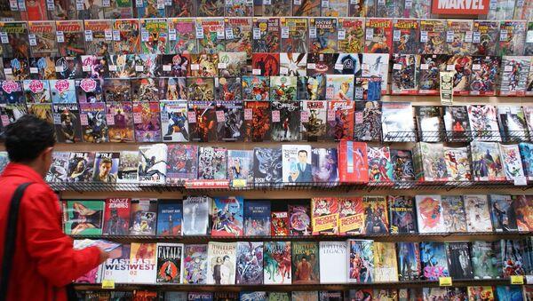 Una tienda de historietas (archivo) - Sputnik Mundo