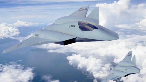 Boeing unveils updated F/A-XX sixth-gen fighter concept - Sputnik Mundo