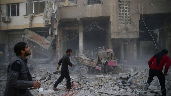 Situación en la ciudad siria de Duma (archivo) - Sputnik Mundo