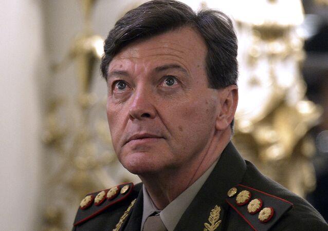César Milani, exjefe del Ejército argentino
