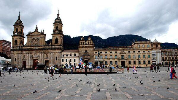 Plaza de Bolívar en Bogotá - Sputnik Mundo