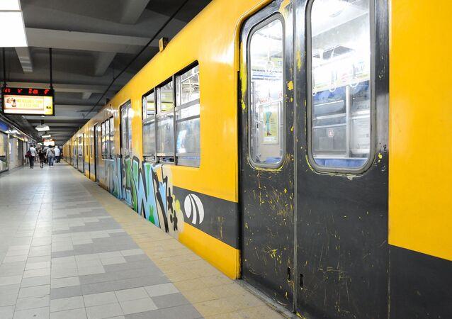 Metro de Buenos Aires, Argentina (archivo)