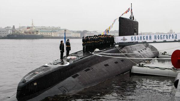 Ceremonia de entrega del submarino diésel-eléctrico 'Veliki Nóvgorod' - Sputnik Mundo