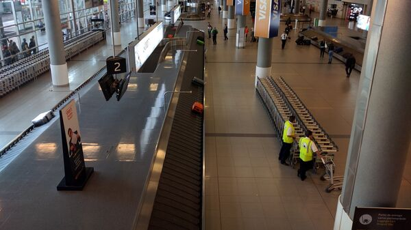 El Aeropuerto Internacional El Dorado en Bogotá, en Colombia - Sputnik Mundo