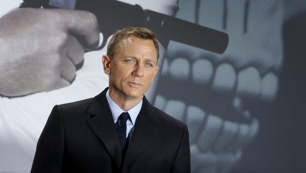 Actor británico Daniel Craig, que interpreta a James Bond - Sputnik Mundo