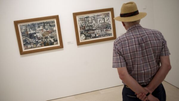 Pinturas de Joaquín Torres García en el Museo Picasso Málaga, en España - Sputnik Mundo