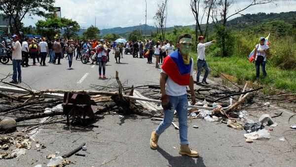 Protestas en Venezuela - Sputnik Mundo